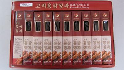 Hồng sâm nguyên củ tẩm mật ong Hàn Quốc