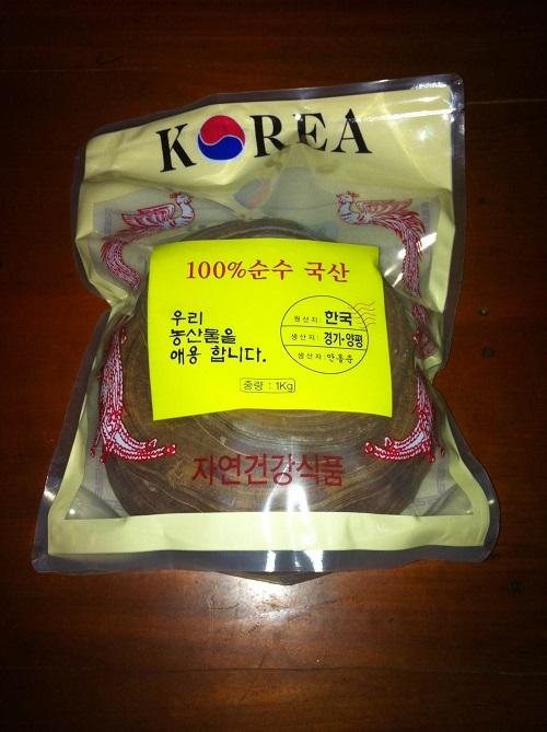 Nấm linh chi đỏ Hàn Quốc giá 500 nghìn/kg