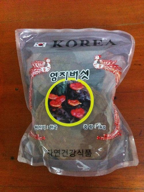 Nấm linh chi núi đá Hàn Quốc giá 600 nghìn/kg