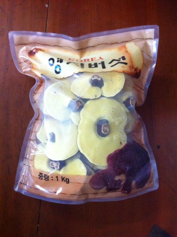 Nấm linh chi núi đá Hàn Quốc loại đặc biệt - loại tốt nhất